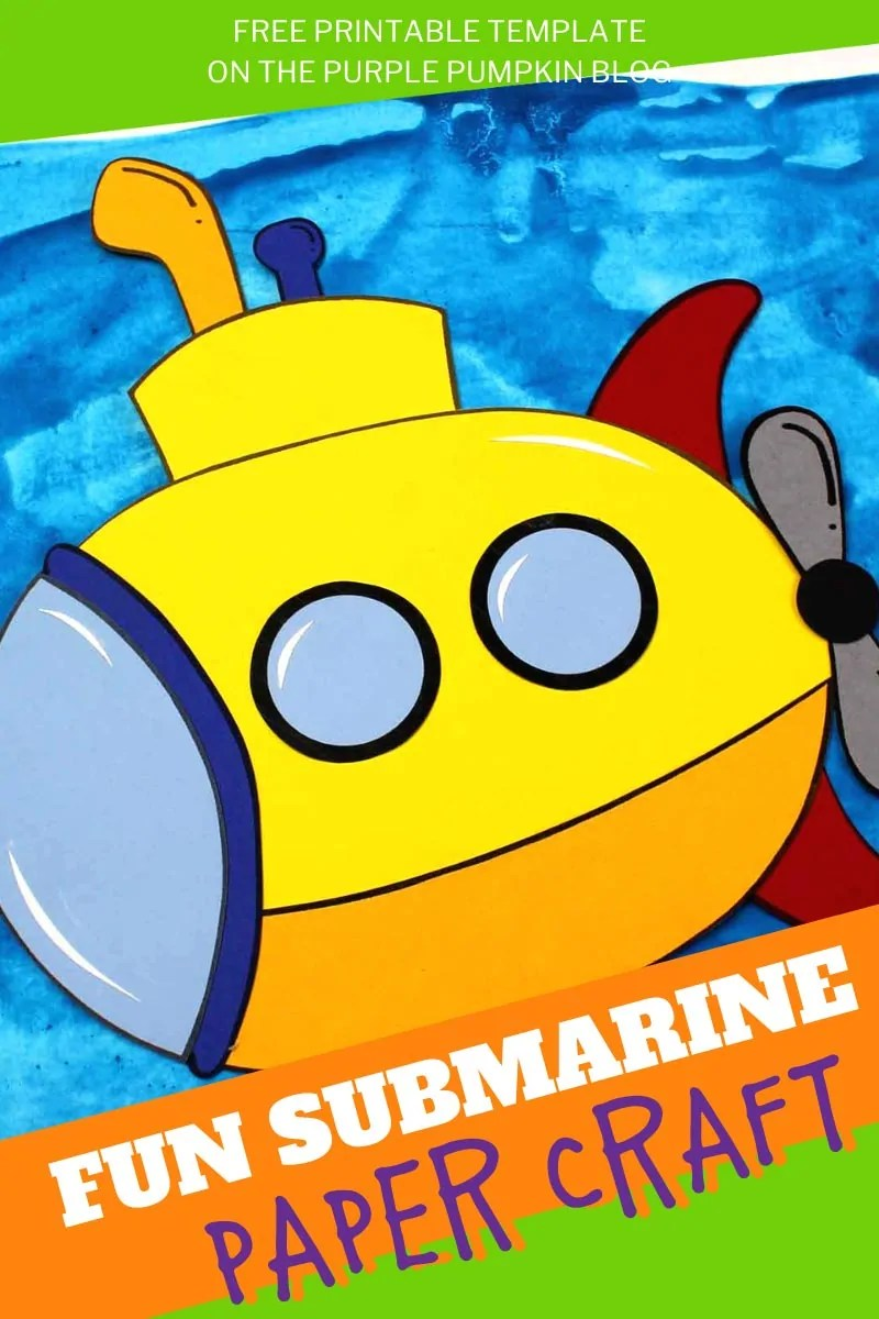 Fun Submarine Paper Craft