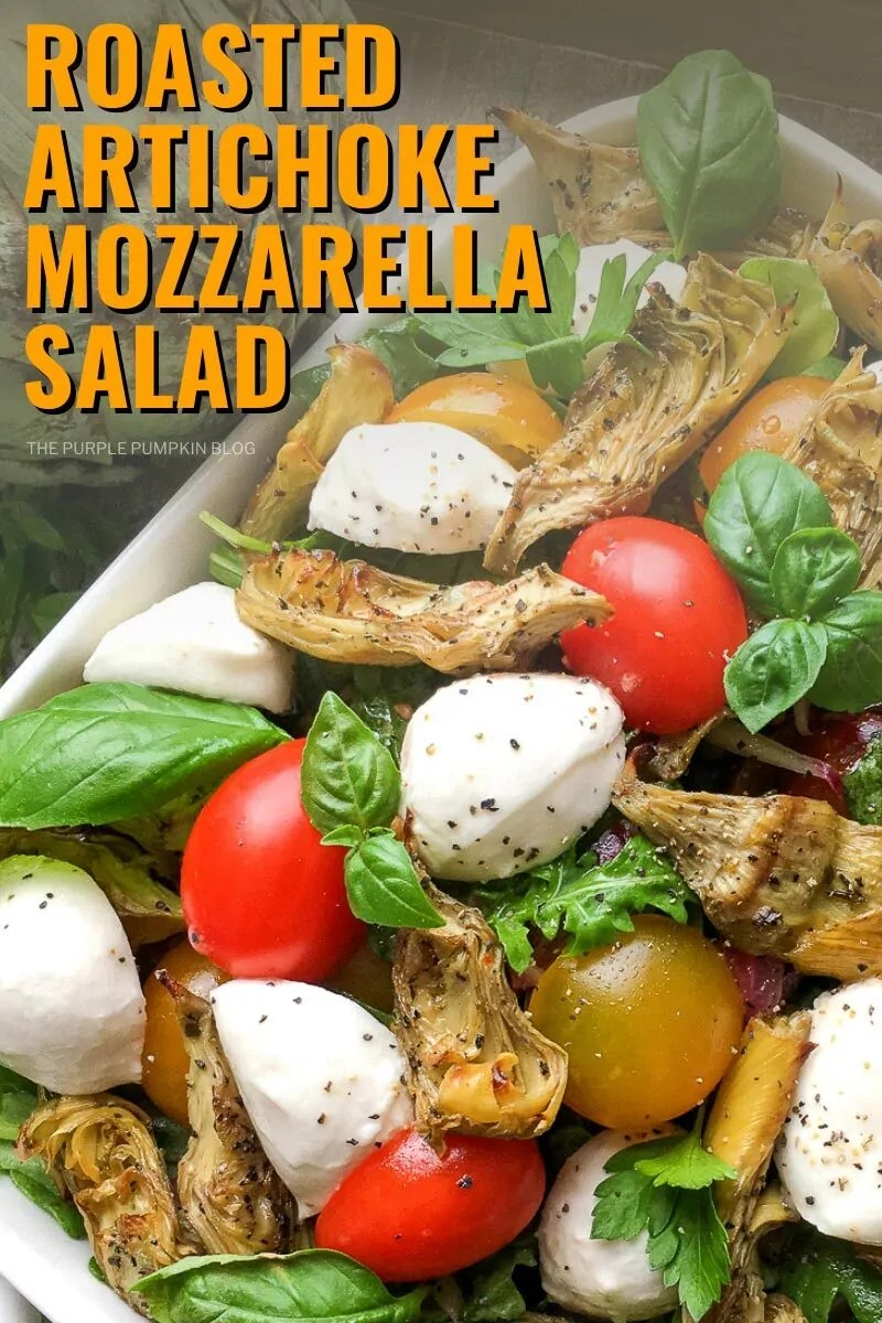 Roasted Artichoke Mozzarella Salad