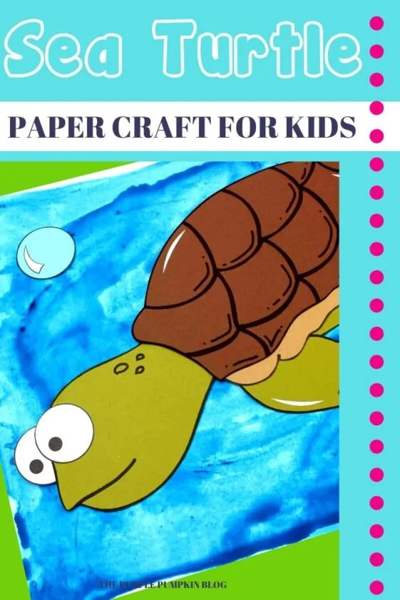 Sea-Turtle-Paper-Craft-for-Kids