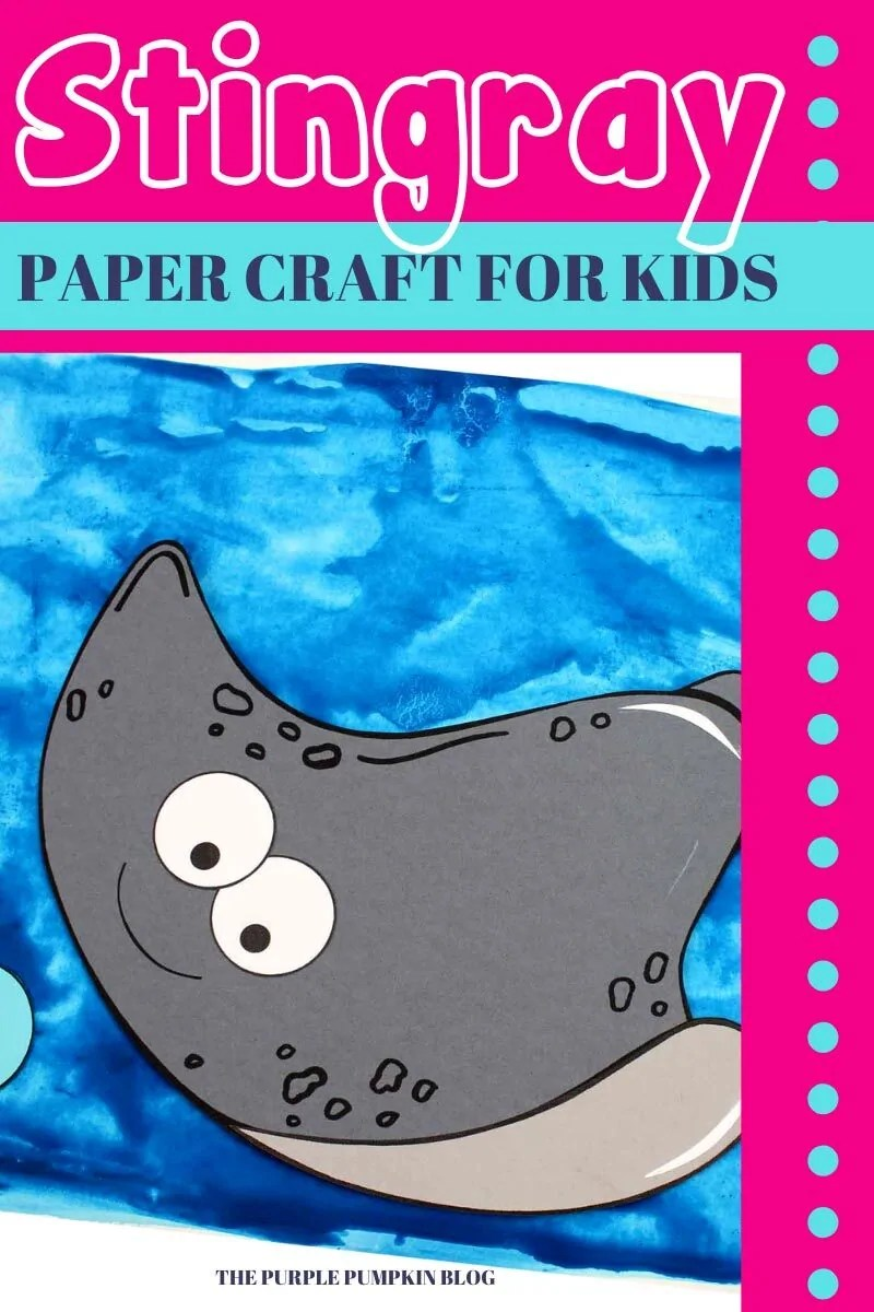 Stingray Paper Craft for Kids