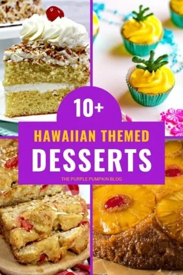 10+ Hawaiian Themed Desserts