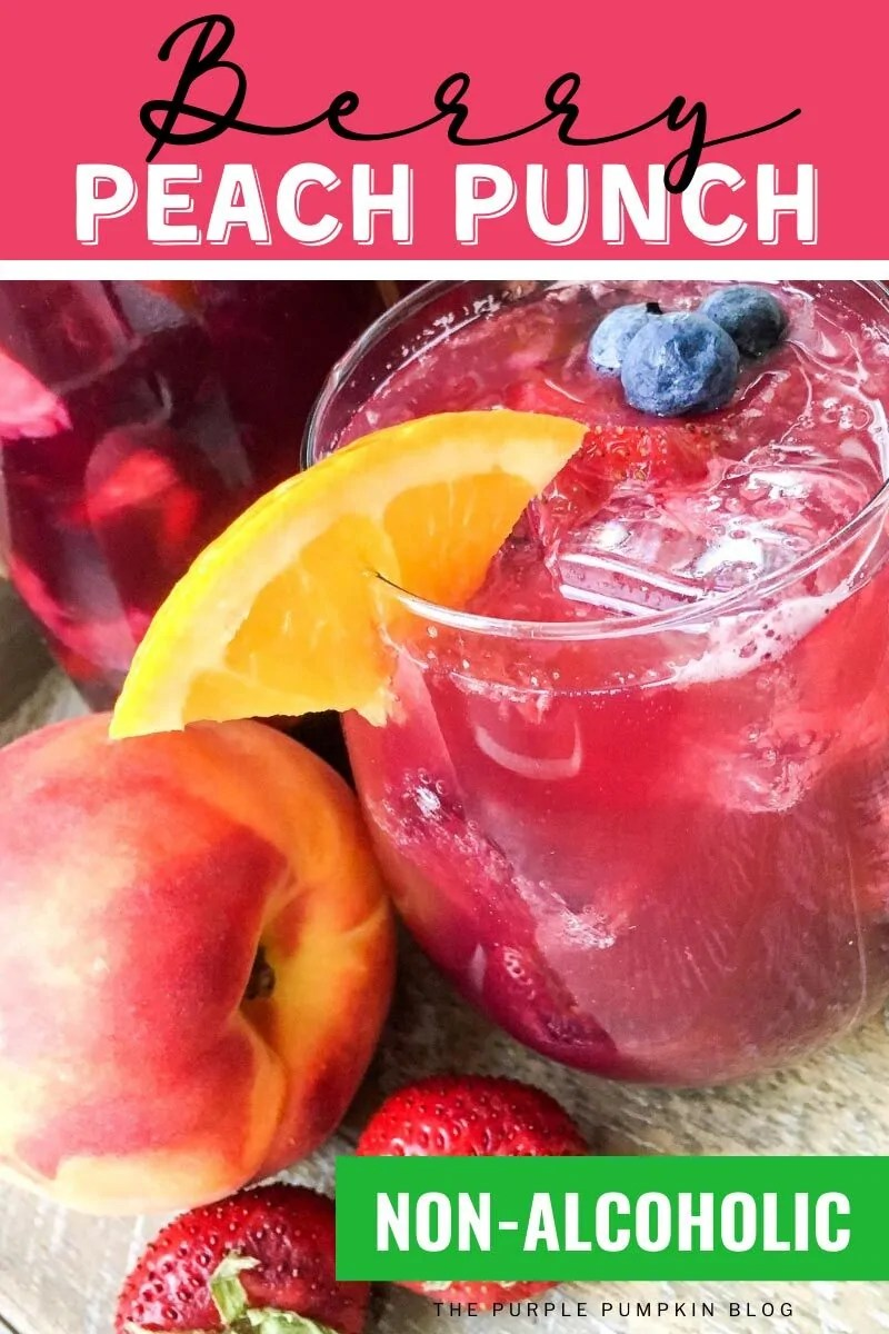 Berry Peach Punch - Non-Alcoholic