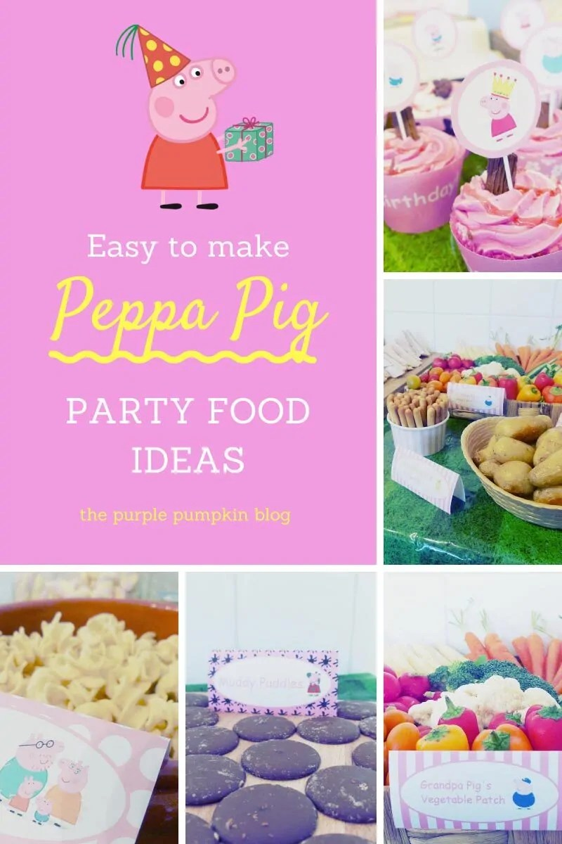 Easy to Make Peppa Pig Party Food Ideas