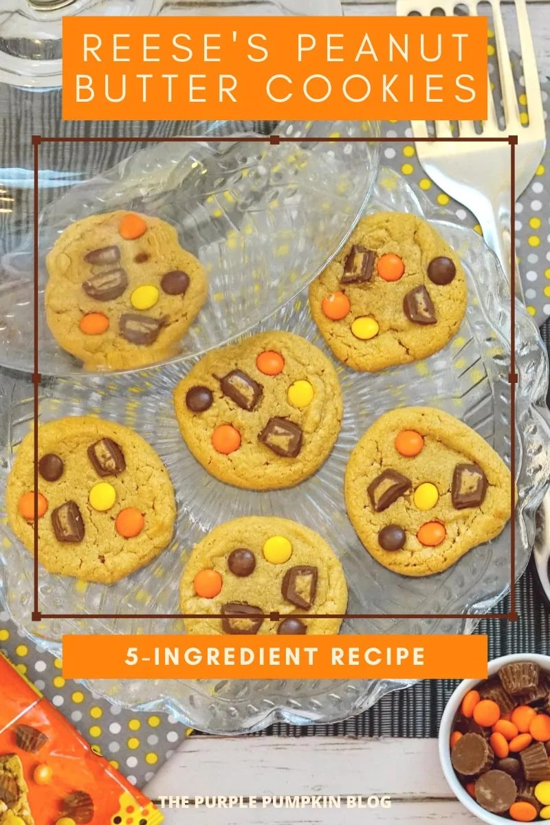 Reeses-Peanut-Butter-Cookies-5-Ingredient-Recipe