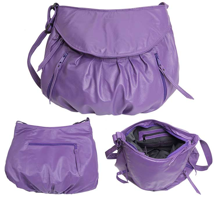 the retro hobo purple
