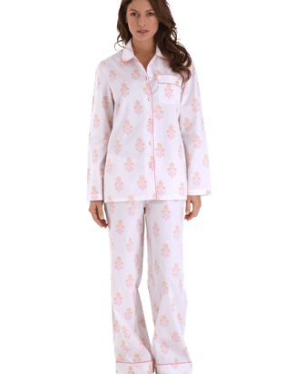 Jamie Indian Flower PJ Set (just Petite/XS left)