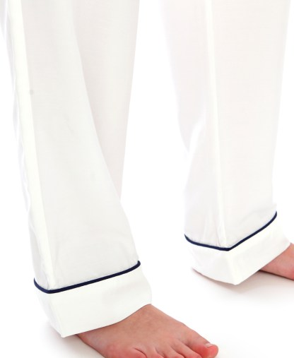Luxury Ivory Natural Sueded Rayon PJs