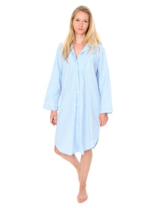 Gillian Sky Blue Nightshirt