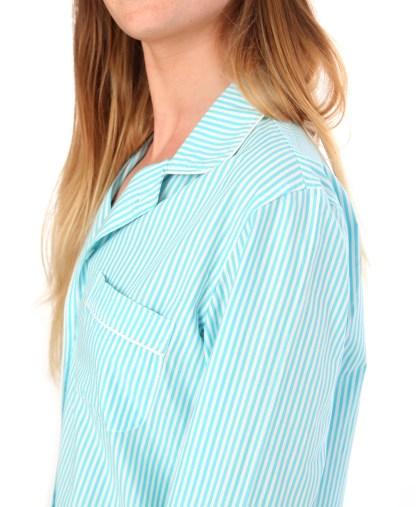 Phoebe Teal Stripe Shorties