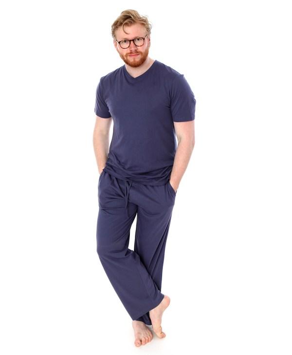 Cj Man Navy Blue Top - Pyjama Store