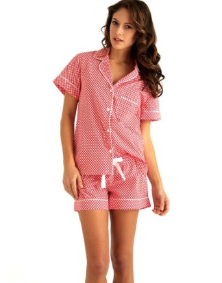 Eloise Orange Rings PJs
