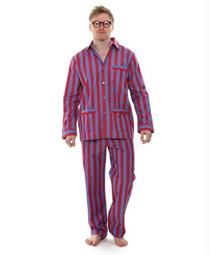 Men's  Luxury Striped PJs