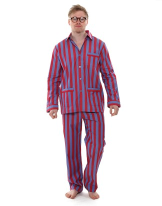 Men's  Luxury Striped PJs