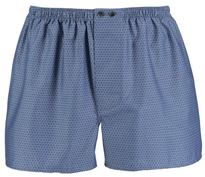 Bonsoir Finesse Grey or Blue Patterned Boxers