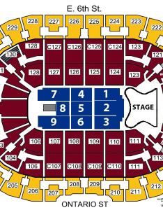 View seating chart also elton john farewell yellow brick road quicken loans arena rh theqarena