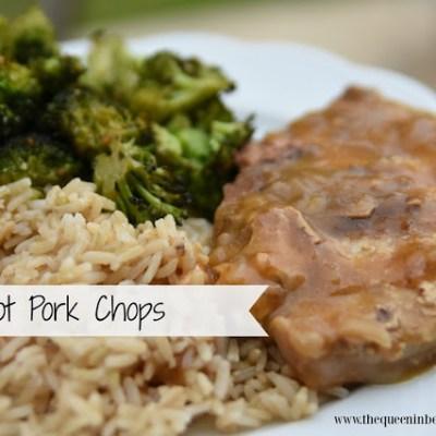 Crockpot Pork Chops