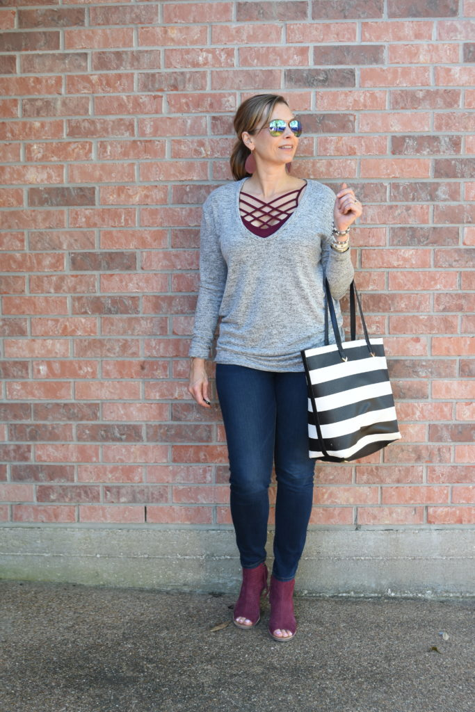 Lightweight Sweater for Spring