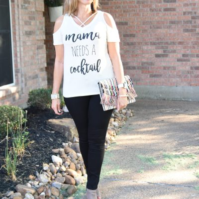 Graphic Tee + Ageless Style Linkup