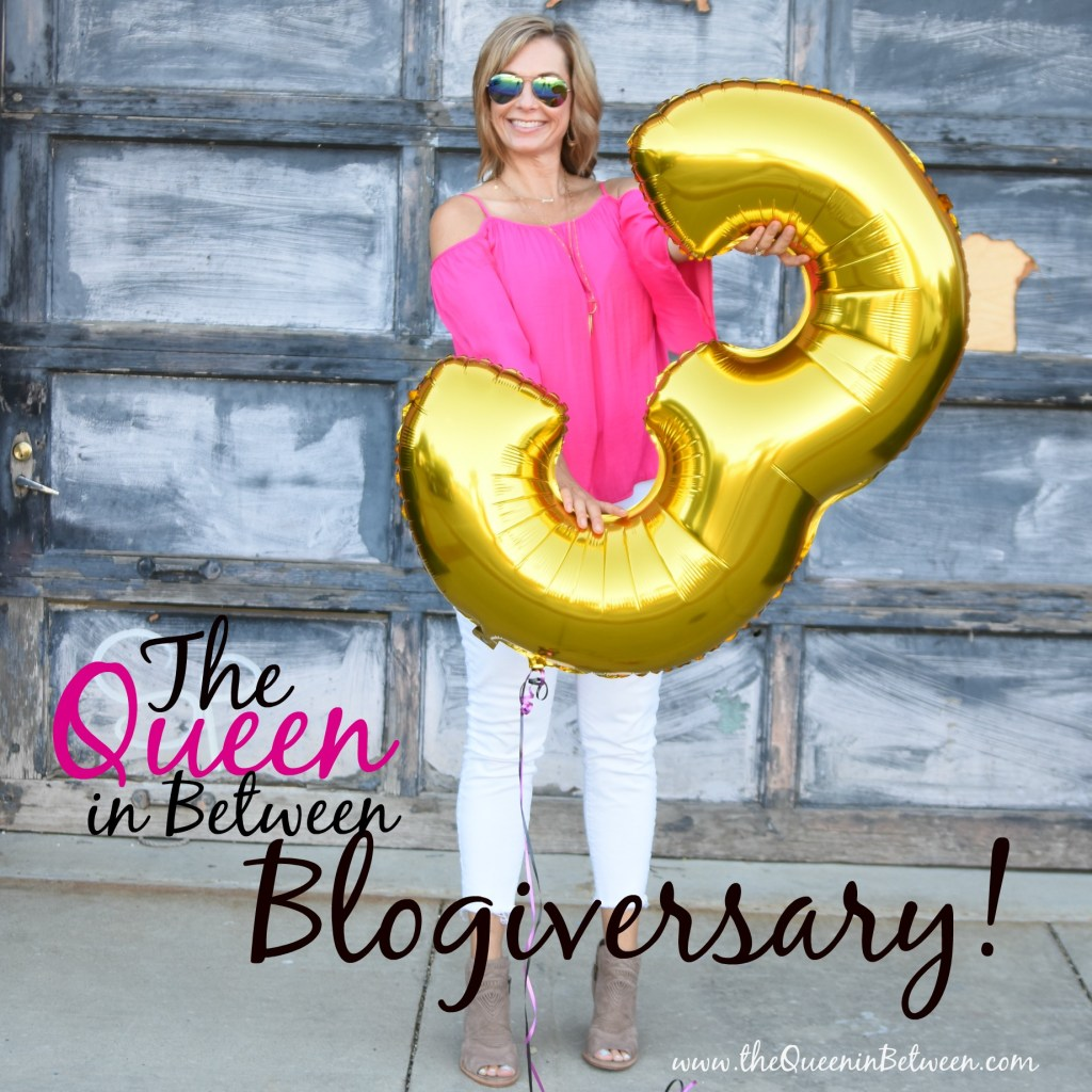 The Queen in Between Blogiversary