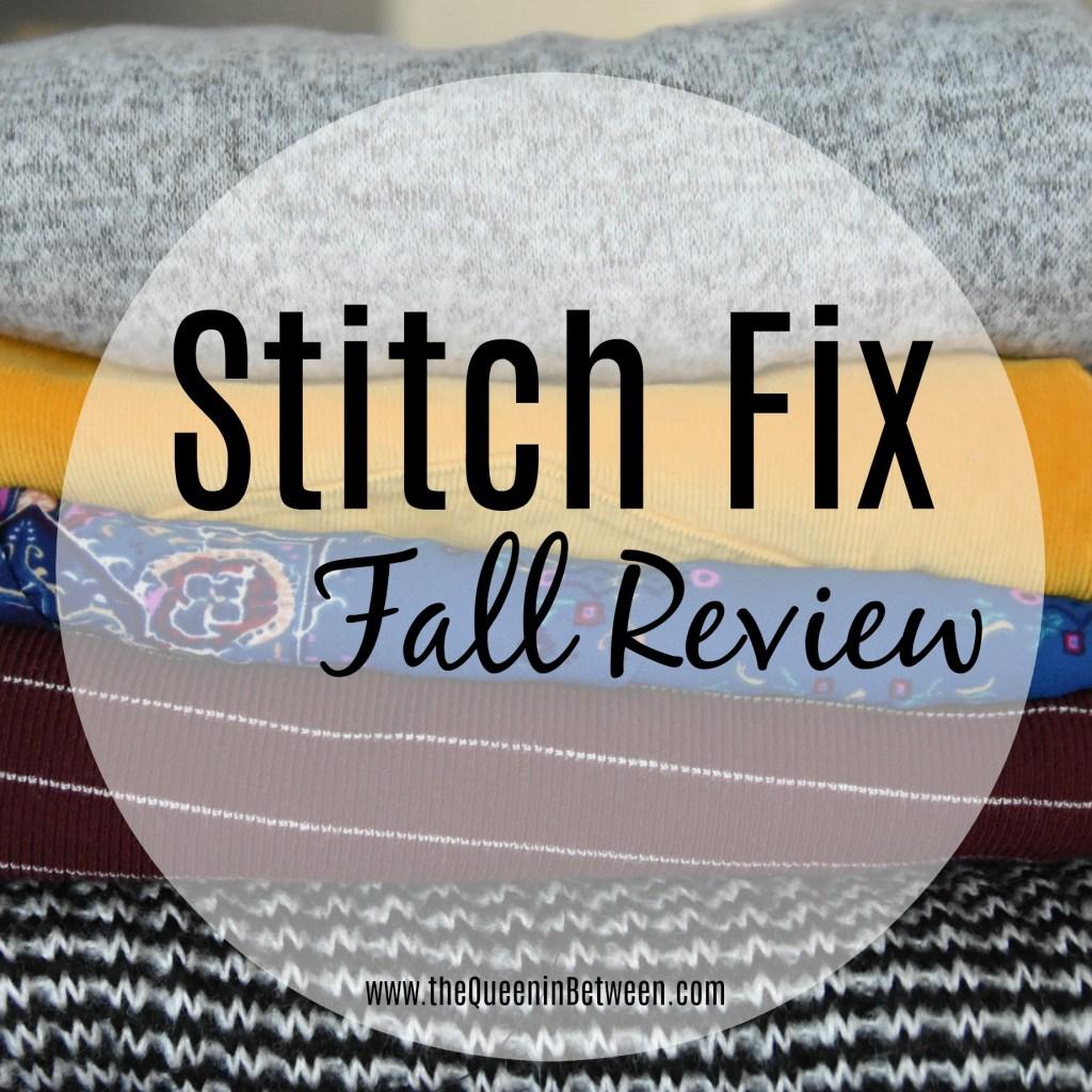 Stitch Fix - Fall Box Review