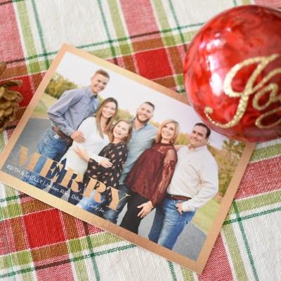 2017 Christmas Card – Family Photos
