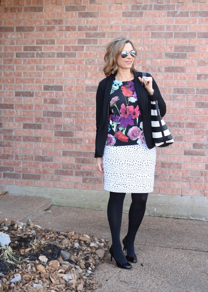 White Skirt for Winter