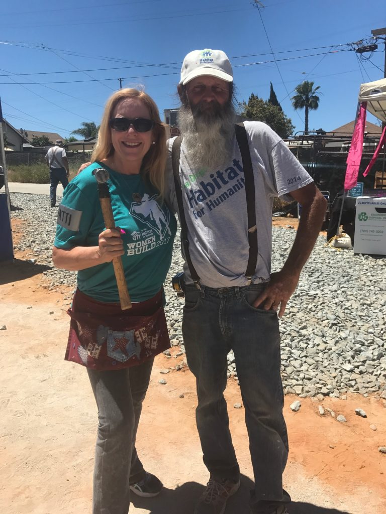 Patti & Dale- Habitat for Humanity Build