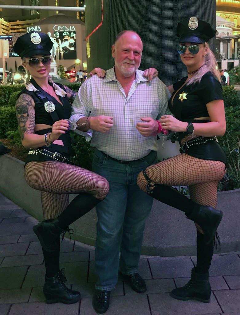 Under arrest in Vegas