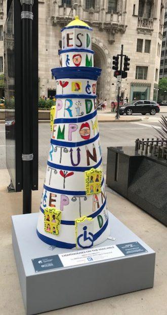 Chicago Lighthouse Art