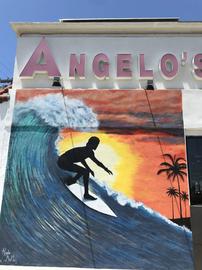 Oceanside Surfer Mural