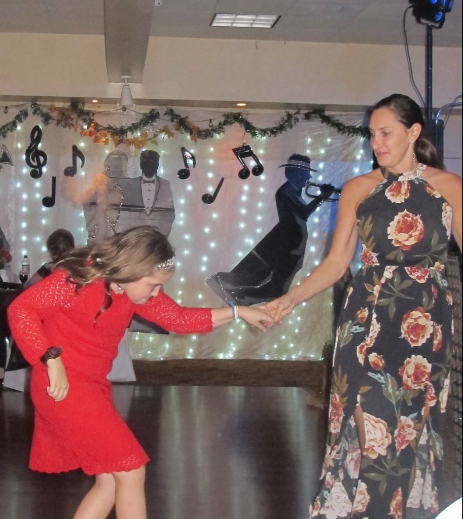 "My grand daughter Nell, and Jodi ""cutting a rug."" EVERY age can enjoy dancing!"