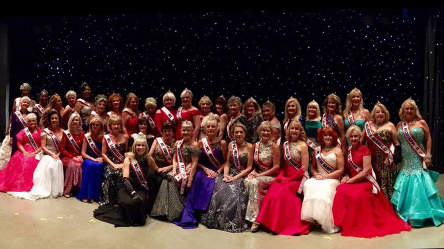 This is a picture that was taken at the National Competition, where MJ met so many wonderful and amazing women!