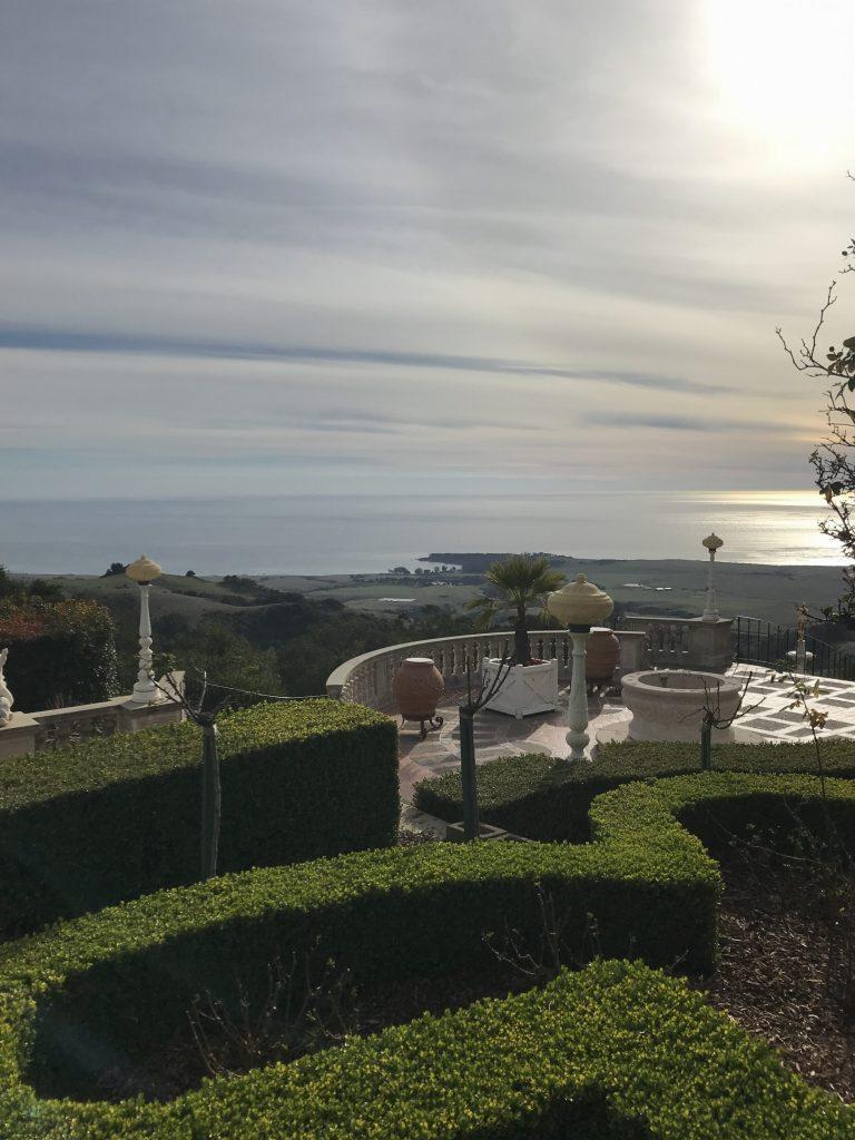 The views from Hearst Castle go on forever. He used to own all of the land from the castle down to the beach. Over 250,000 acres at one time!