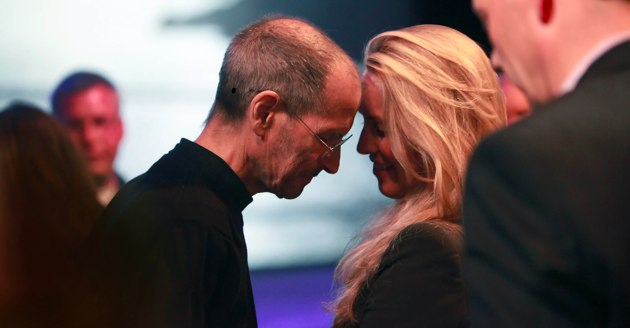 steve jobs and his wife