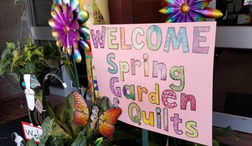 A spring garden of quilts 2018