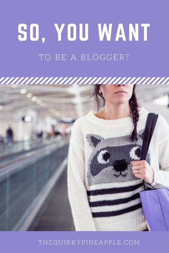 blogger -- the quirky pineapple