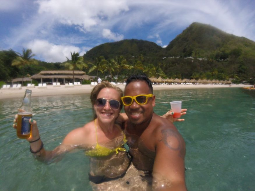 This month's International Couples Series feature is Tarah & Tip from Fit Two Travel! I loved reading through their love story! Check it out on the blog! -- The Quirky Pineapple