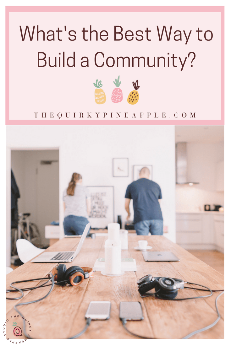What's the best way to build a community? It involves learning about your own strengths when working with people, understanding what your audience wants, and finding that sweet spot right in the middle. Take the quiz to find out what type of community builder you are! -- The Quirky Pineapple Studio