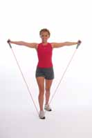 Thera-Band Tubing Lateral Raise