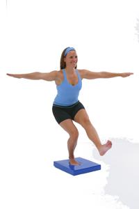 Single Leg Squad On Balance Pad