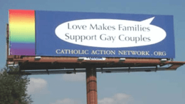 Catholic Church and spiritual support program for gay men and lesbians
