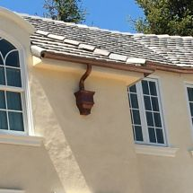 traditional rain gutter