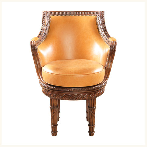 teak wood revolving chair costco folding covers shillong upholstered armchair brass cane lounge reproduction
