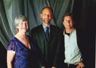 With Hal McGee and Rick Bayless when I was Scholar in Residence at IACP