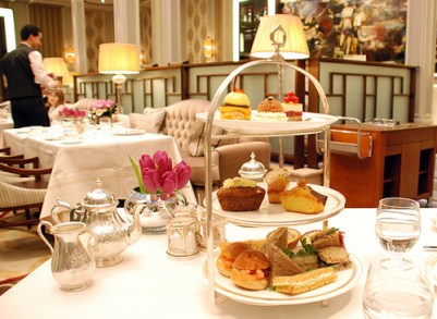 High tea in London, England, creative common license photo from //www.hotelchatter.com/story/2010/1/19/18401/9346/hotels/Revealed%3A_The_London_Hotel_We_Chose_For_Afternoon_Tea