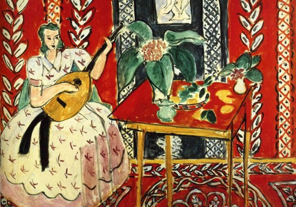 Lute and Fruit, painting by Henri Matisse