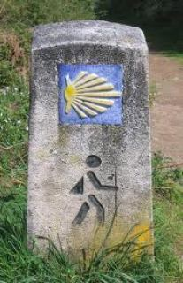 St. James Camino Scallop Shel lMarker