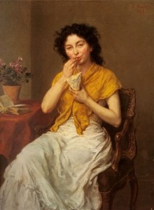 The Glutton, by Ludwig Knaus, 1897