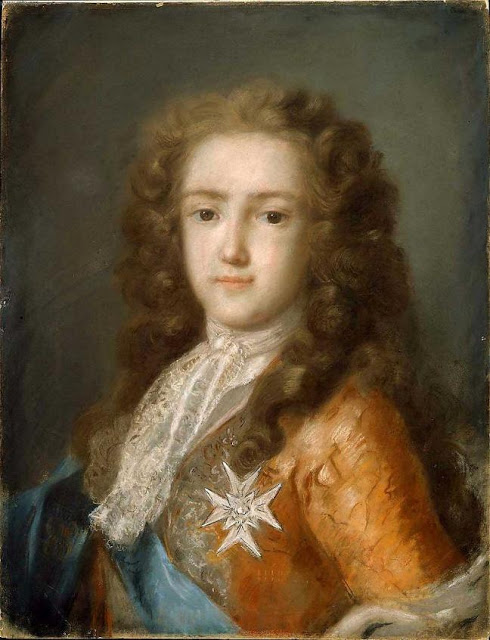 Rosalba_Carriera_Louis as Dauphin XV Venetian pastel painter Venice Rococo