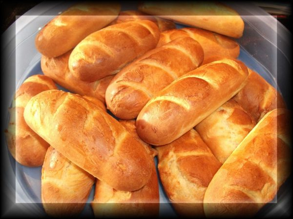Pain au lait, French milk bread, Chartres/Beauce, France